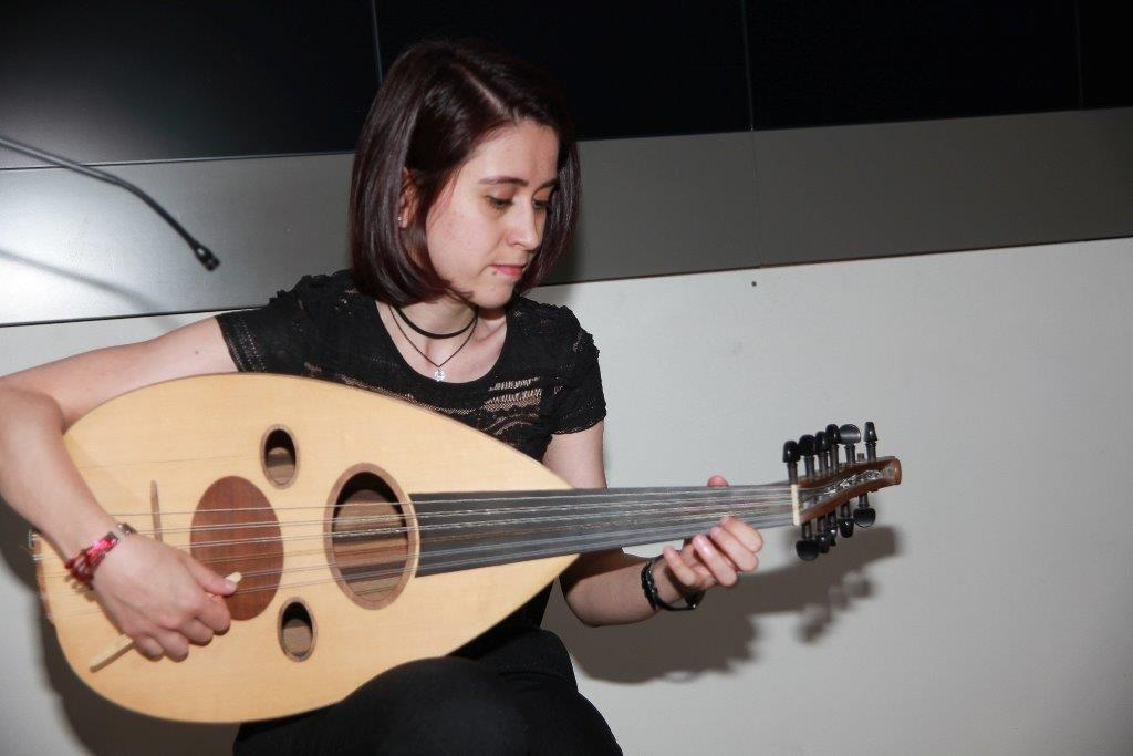 An Evening with Diana Darke - Rihab Azar who played the Oud