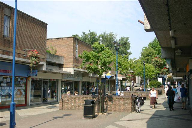 Our Club's local area of Nailsea and Backwell - Colliers Walk, Nailsea Town Centre