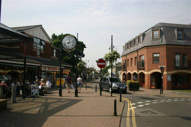 Our Club's local area of Nailsea and Backwell - Nailsea High Street