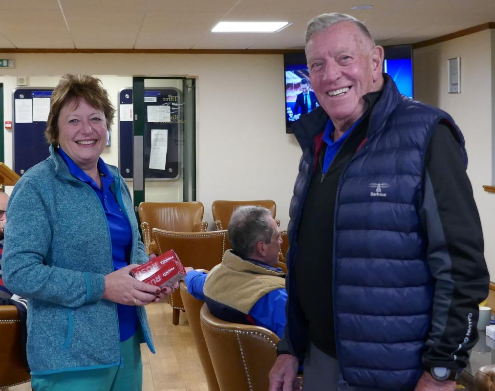 Club Golf Champinship - A Shackleton win in Antarctic Conditions - Winner of the Nearest the Pin was Jackie Wellman