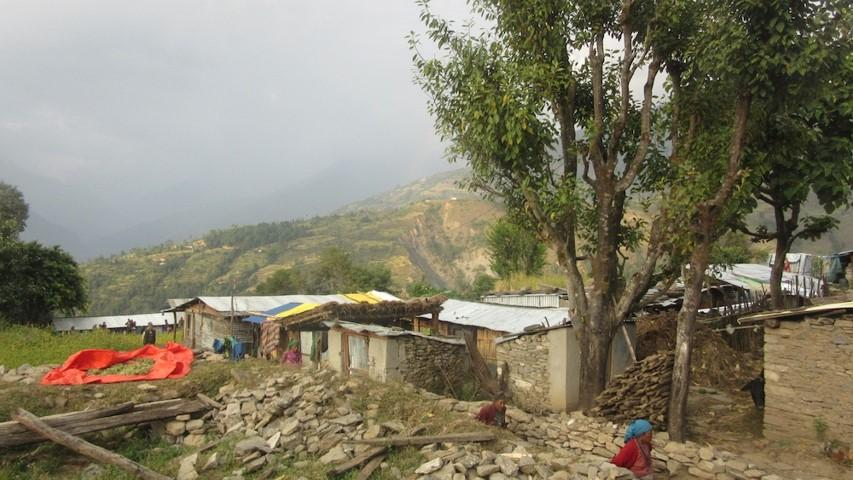 Re-building a school in Nepal - Shree Saraswoti - Current Conditions