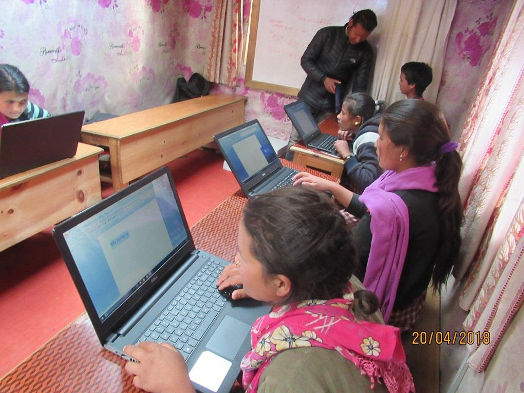 Nepal HEAD Project - The pupils at the HEAD school will be able to use these new laptops to assist their learning