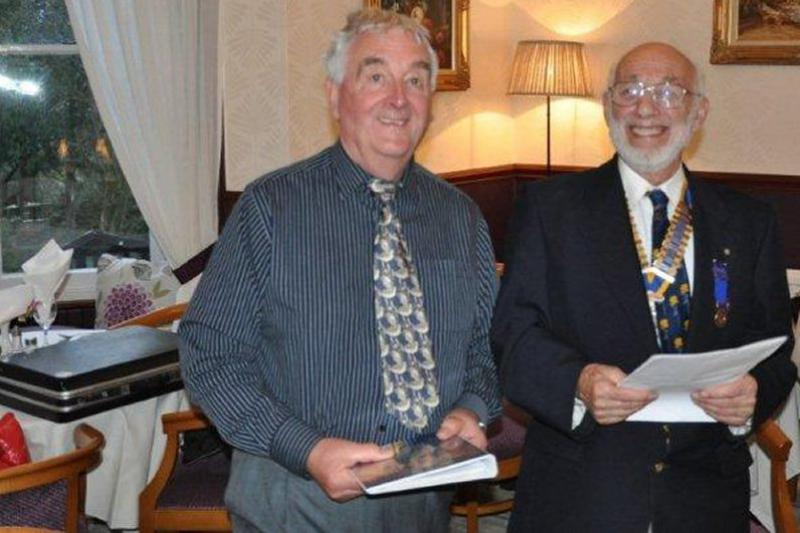 Millom's New Members - Chris, our first Associate Member, becomes a Rotarian in April 2014