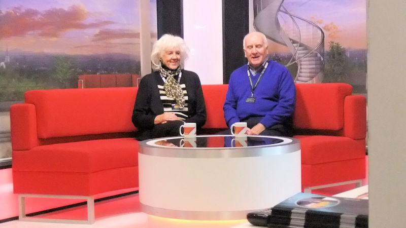 Our Social Activities - Newsreaders Jim & Alma present North-West Tonight