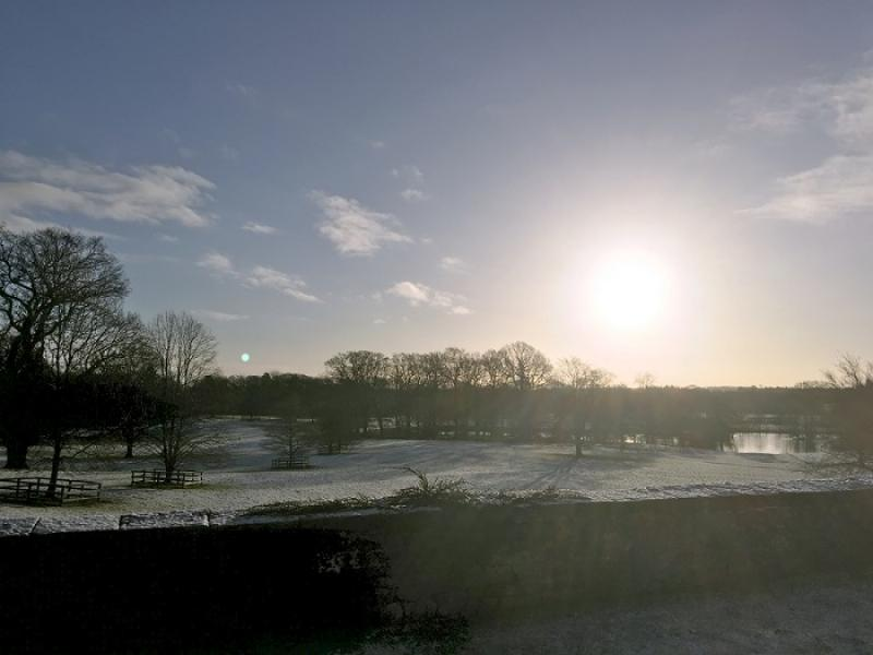 About our Club - Nidd hall early morning snow