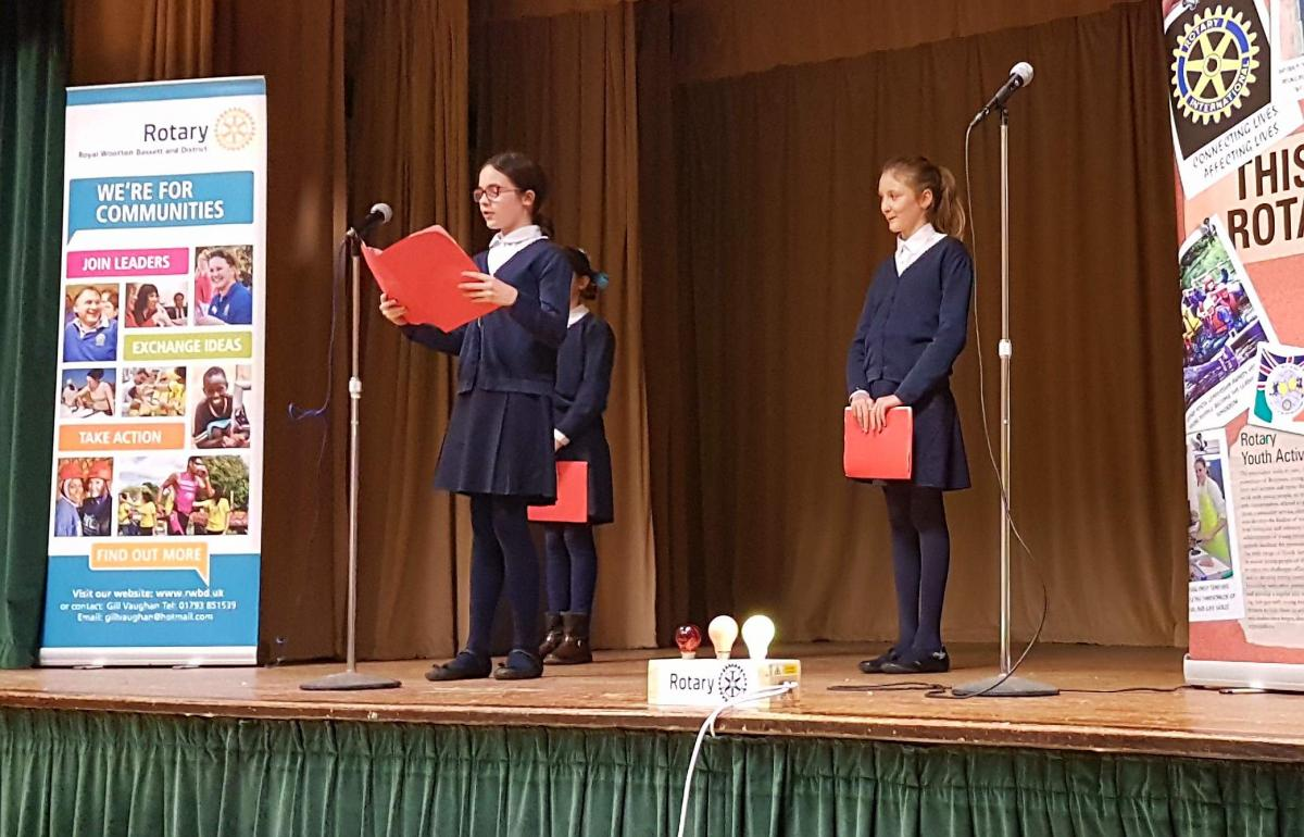 Junior Youth Speaks Competition 2018 - Noremarsh 2018 - Emily Moore