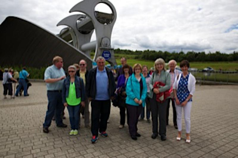Falkirk Wheel Visit 29th June 2014 - On dry land