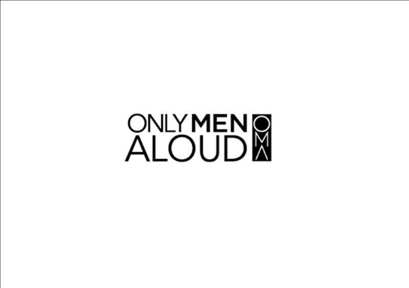 Only Men Aloud to star in Christmas Concert  - OMA Logo