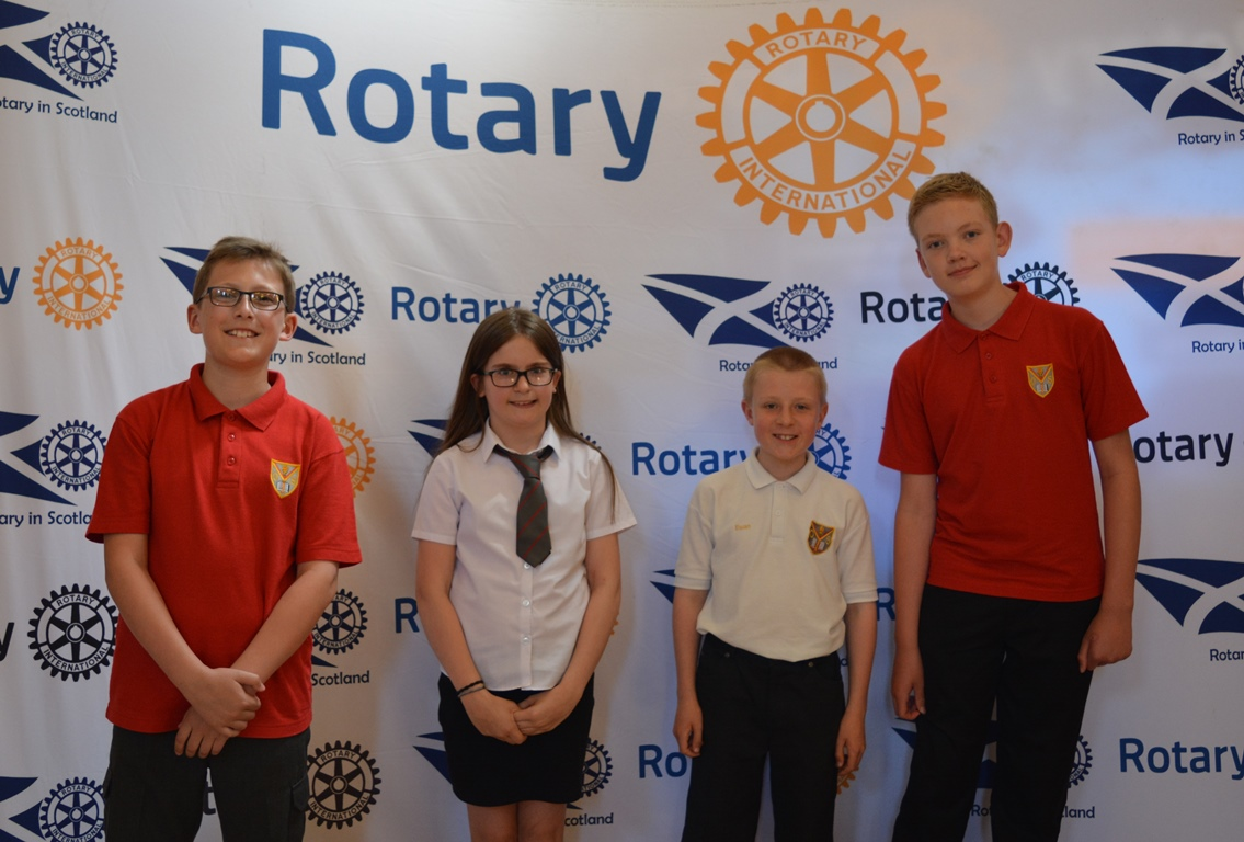 West of Scotland Final of Primary Schools Quiz - Runners-up