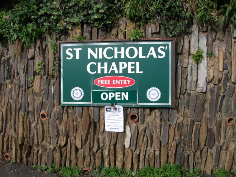 St Nicholas Chapel  - Open or Closed