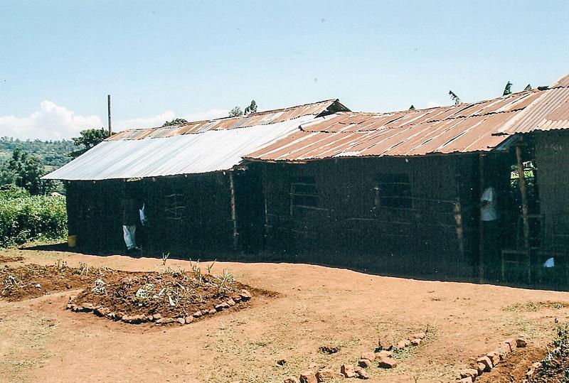 Education Western Kenya - Showing signs of wear and tear.