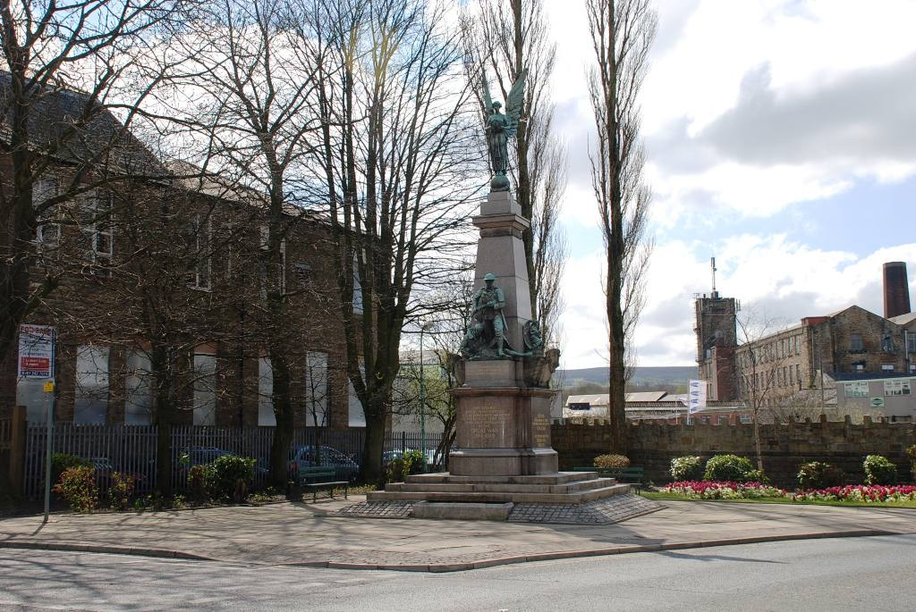 Views around Church and Oswaldtwistle - Oswaldtwistle War Memorial