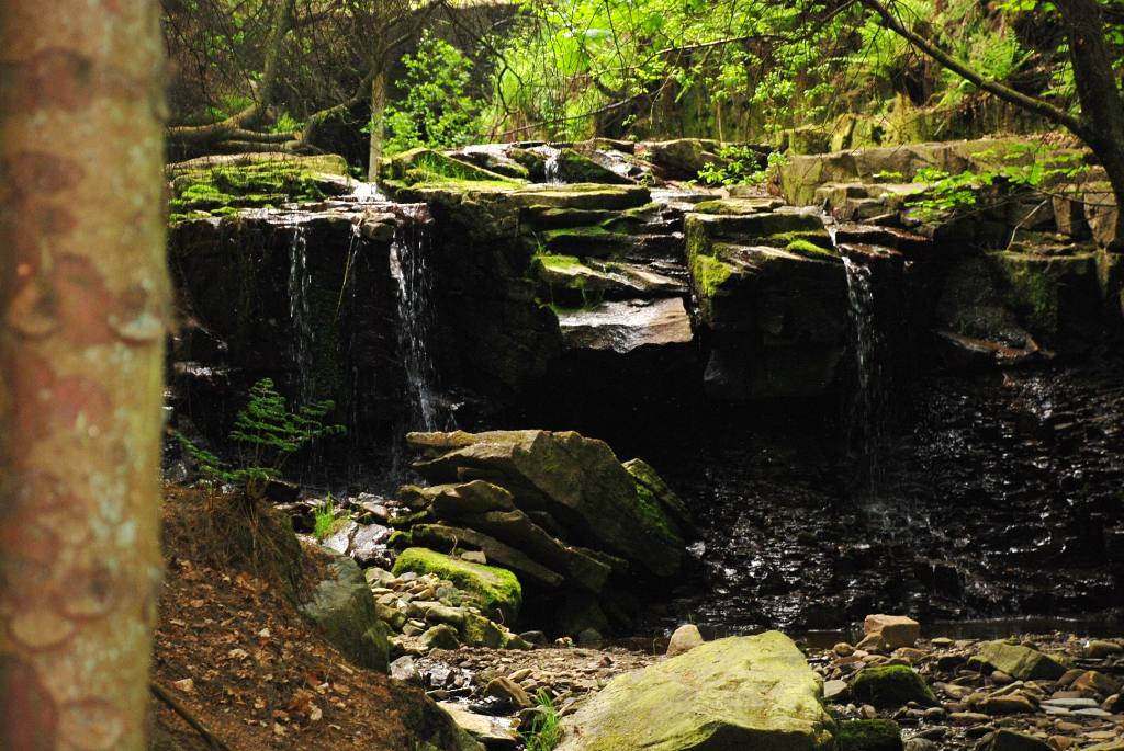 Views around Church and Oswaldtwistle - Ossy water falls