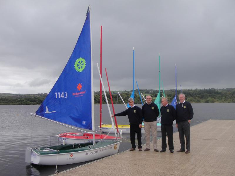 Princess Royal Visits Castle Semple - This is a better view of our boat.