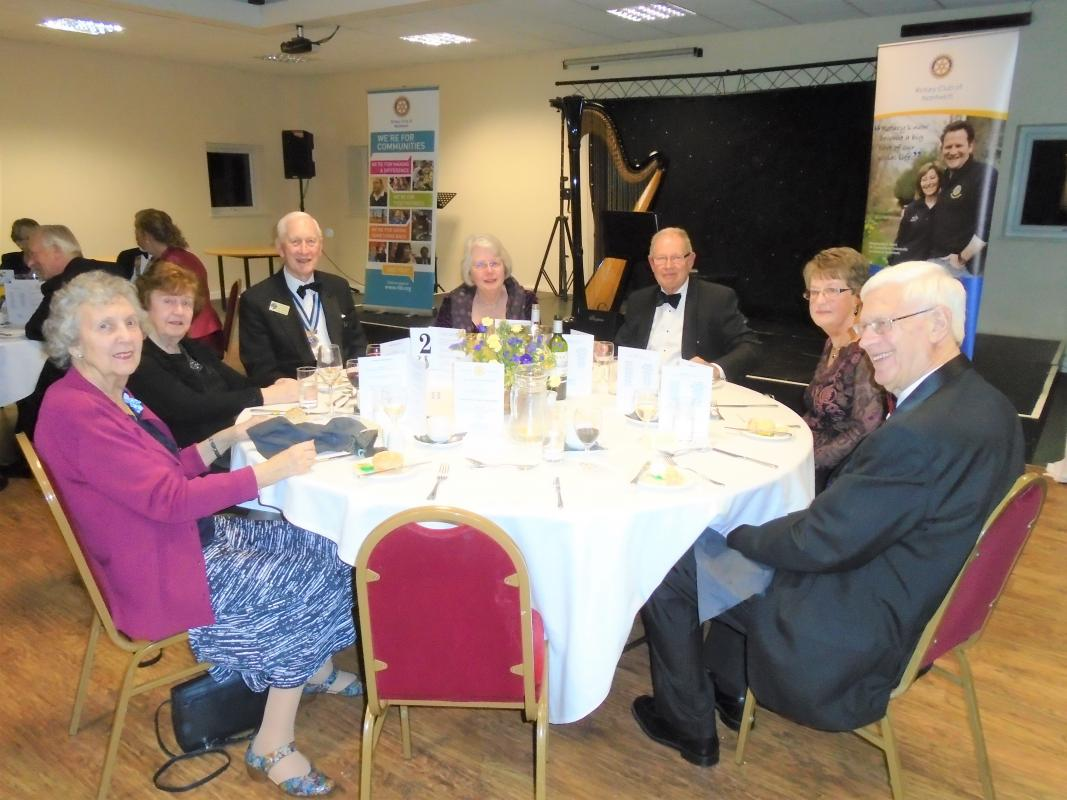 Nantwich Rotary 85th Charter Night - Rod Stokes'sTable