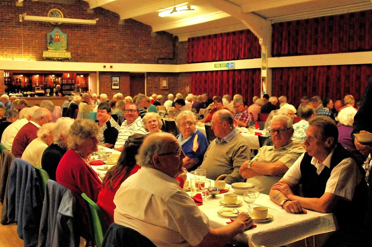 Harvest Supper 2016 - They make it a success