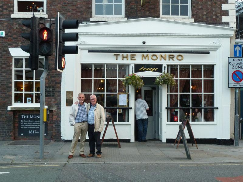 Liverpool Tavern Trails - Outside The Monro
