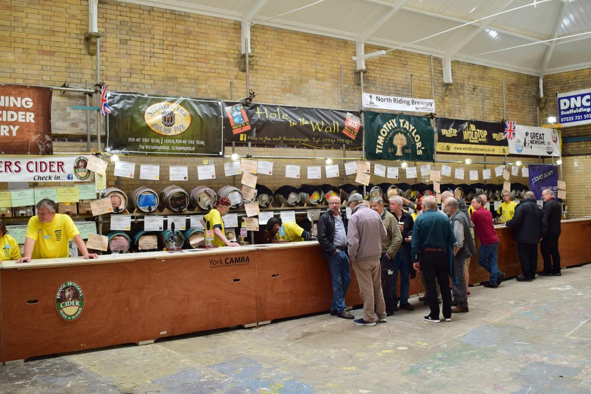 Fund raising with CAMRA - Over 60 real ales to choose from