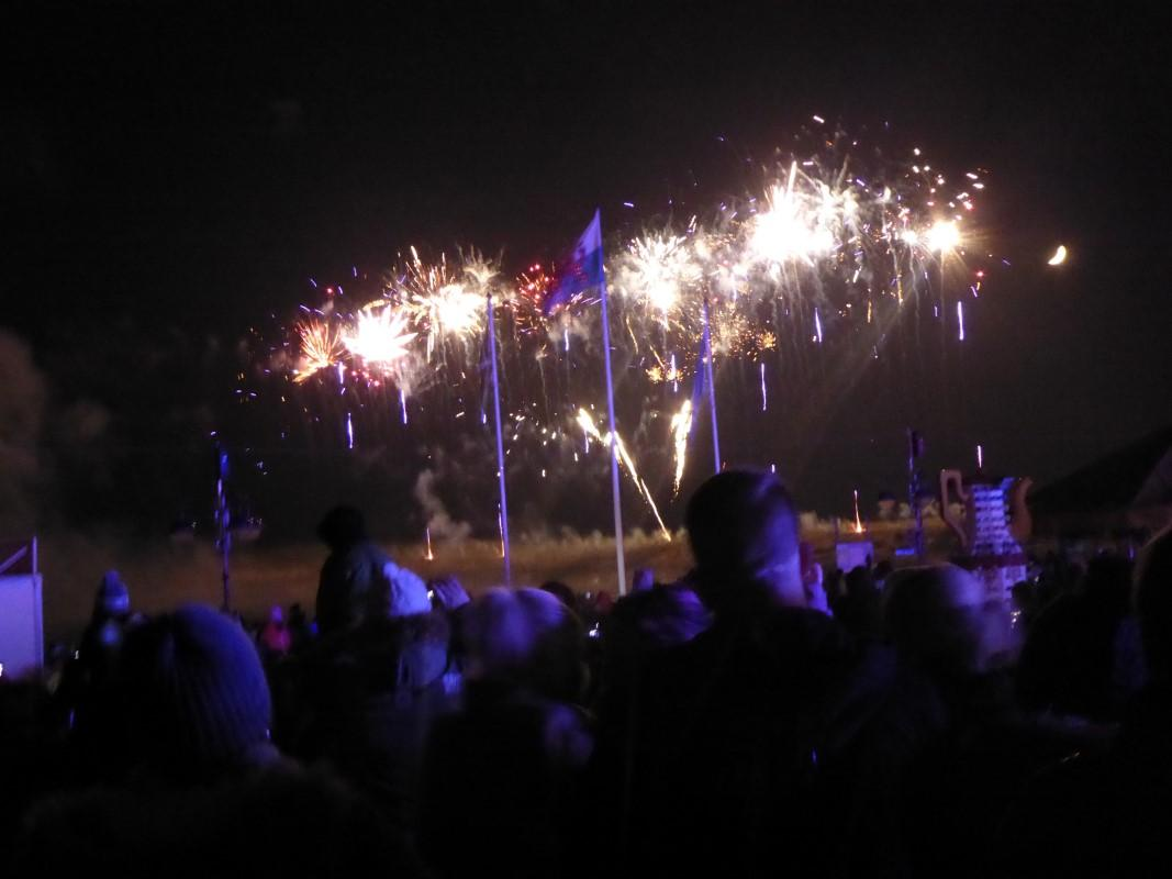 Club Activities - The Fireworks Fiesta we organise each year is our main fundraising activity