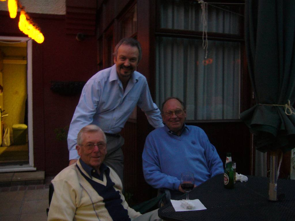 Rodney and Joan's Summer Barbecue - Donald Strowbridge, David Martin and John Nicholls