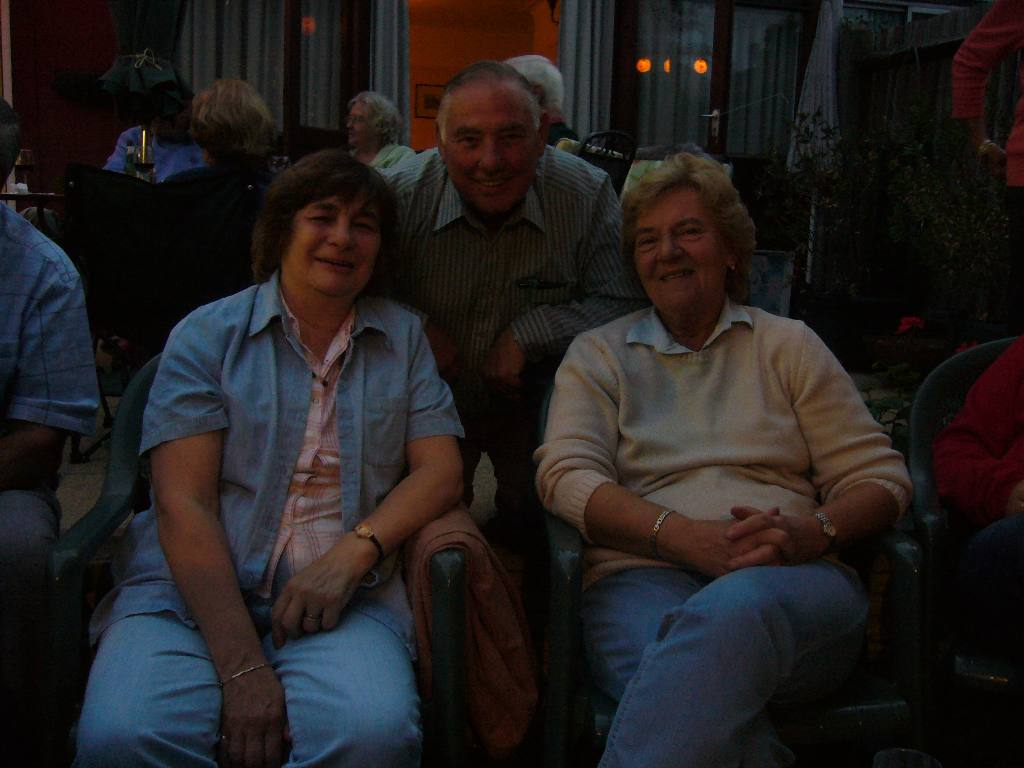 Rodney and Joan's Summer Barbecue - John and Mary Marriage with Jean Howden