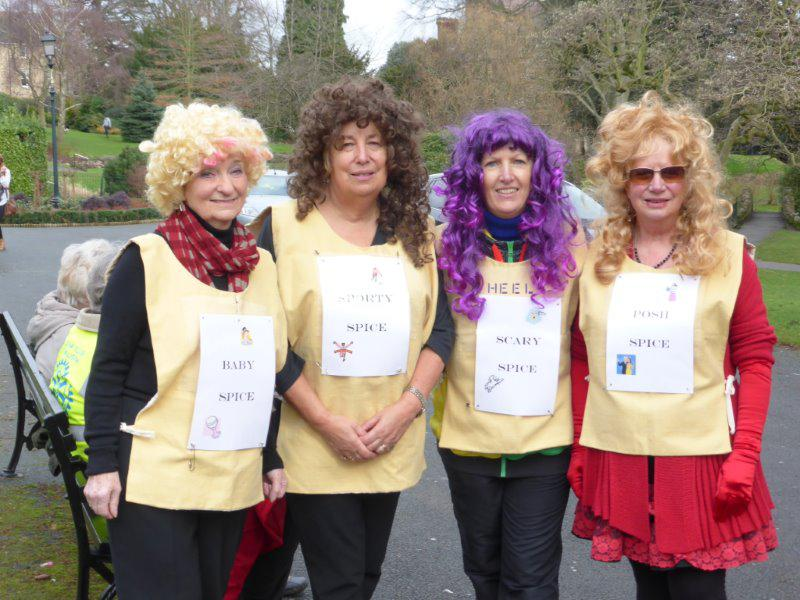 Pancake Race -  February 2014 - The Spice Girls