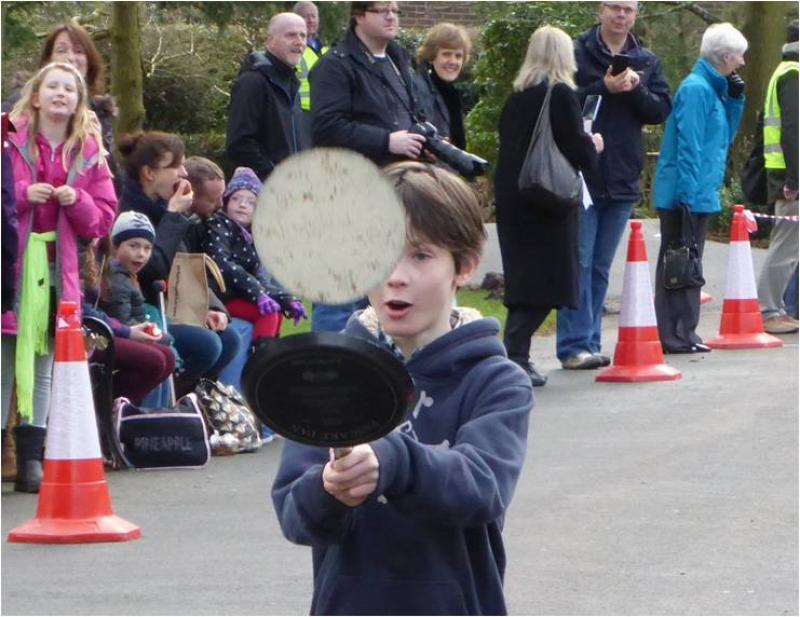 Pancake Race -  February 2014 - Concentration