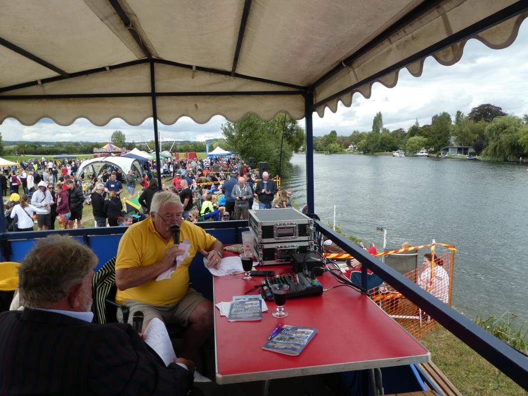 Cookham Regatta - It's not just about drinking wine