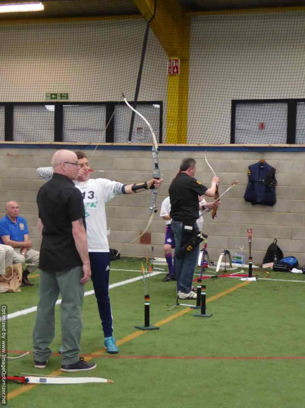 THE DISTRICT GAMES FOR THE DISABLED - Archery