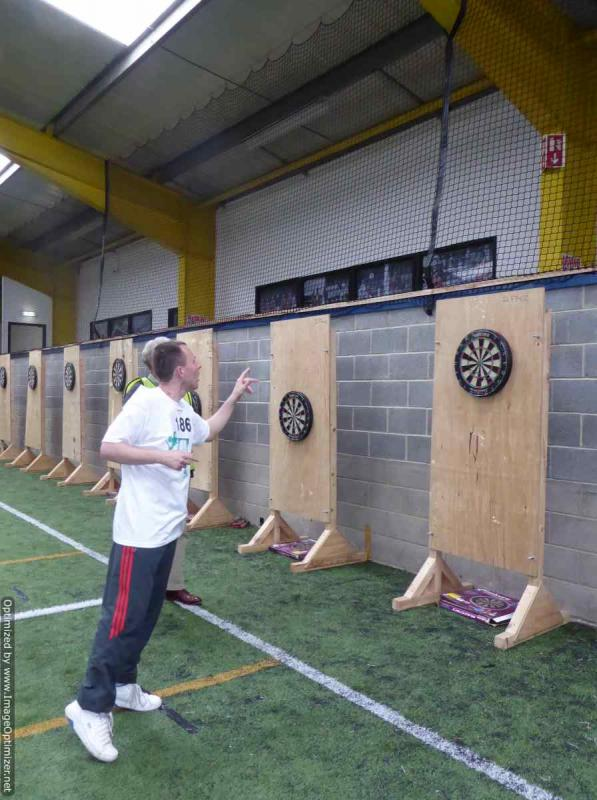 THE DISTRICT GAMES FOR THE DISABLED - Darts