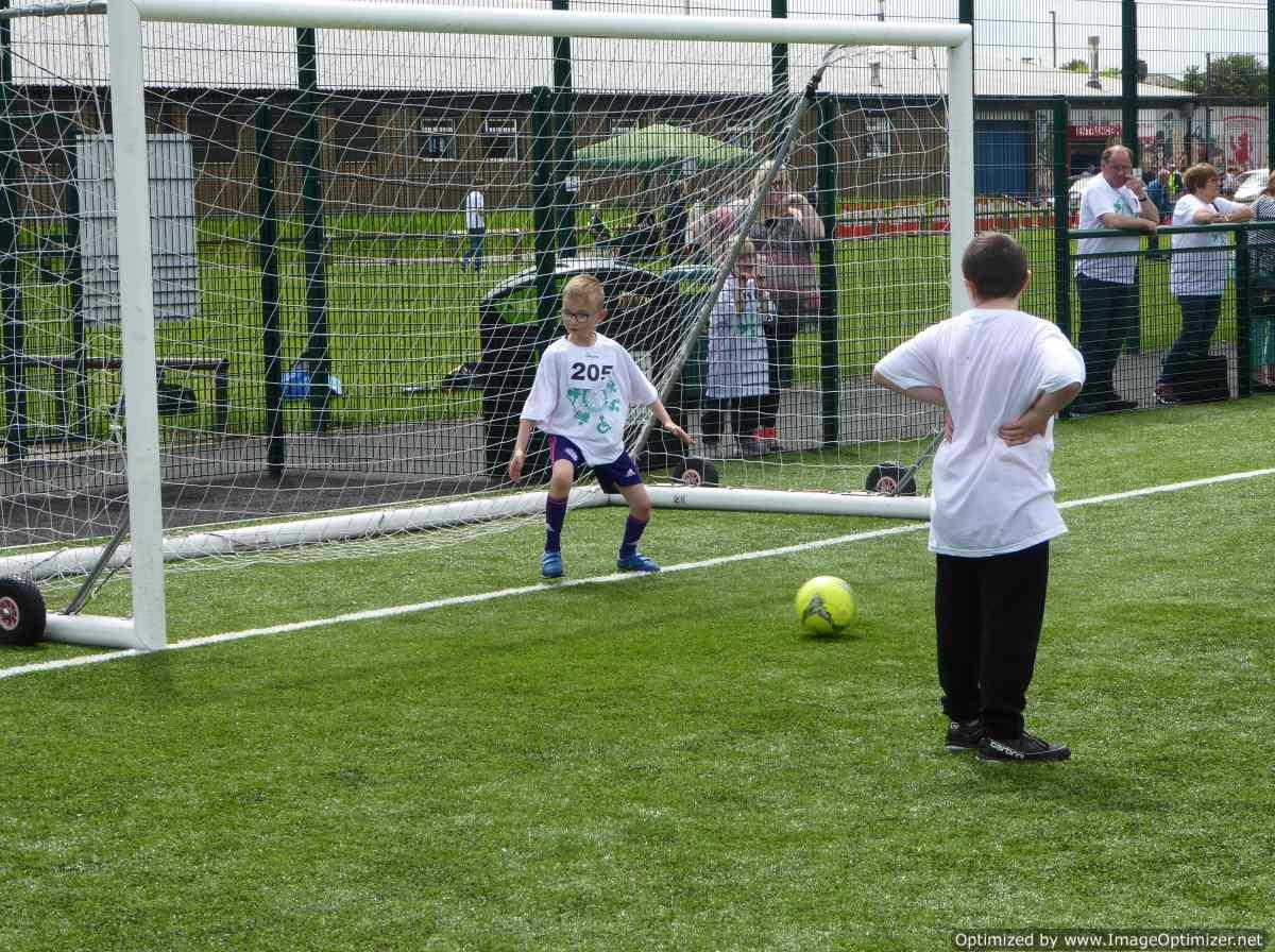THE DISTRICT GAMES FOR THE DISABLED - Impromptu Football