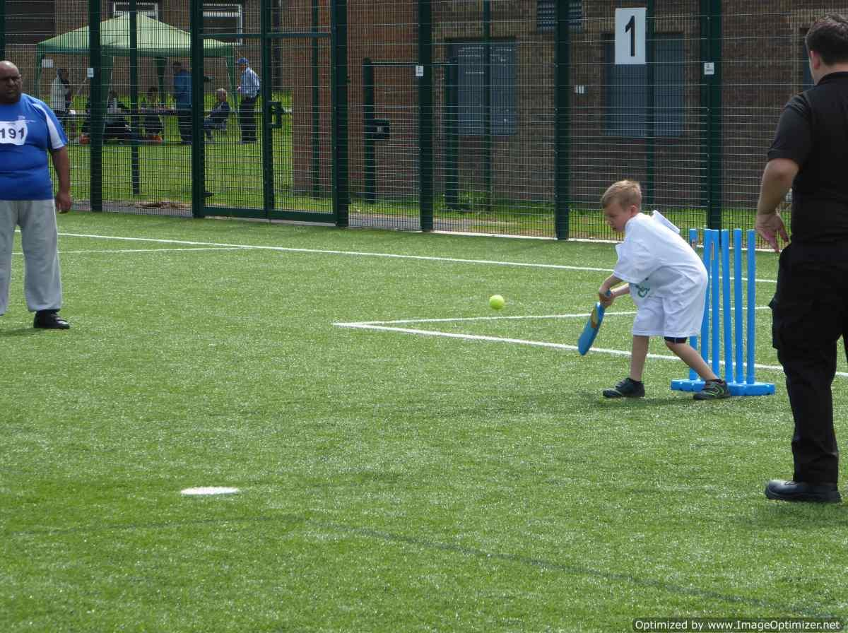 THE DISTRICT GAMES FOR THE DISABLED - Soft Cricket