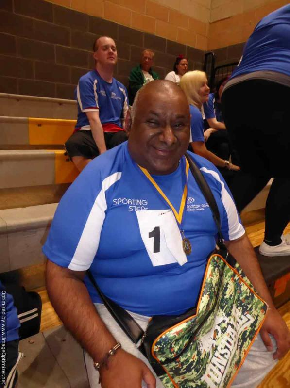 THE DISTRICT GAMES FOR THE DISABLED - Medal Presentations