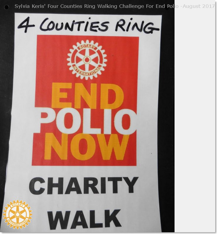 Four Counties Ring Walking Challenge For End Polio -