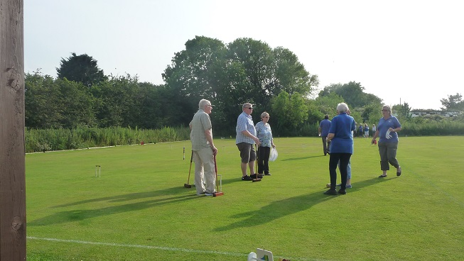Croquet Night -