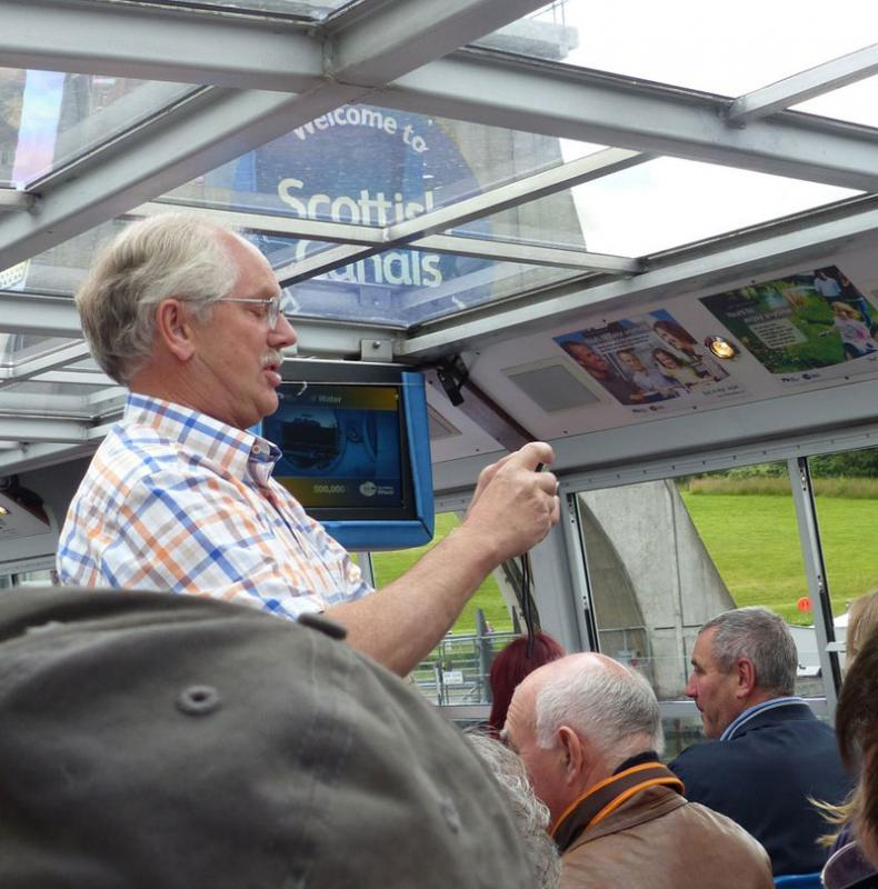 Falkirk Wheel Visit 29th June 2014 - David Bailey??