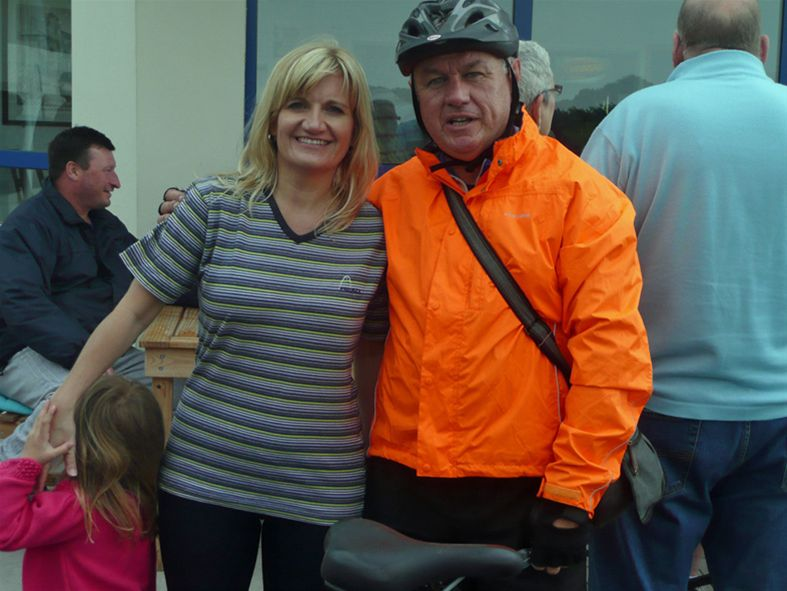 Mark Evans raises £2,000 on charity bike ride -