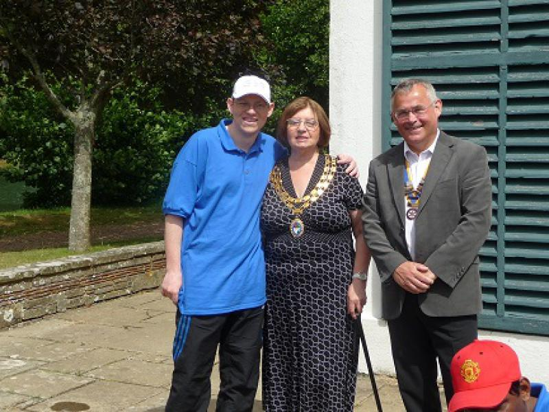 BreakAway - The Mayor of Hailsham Visits