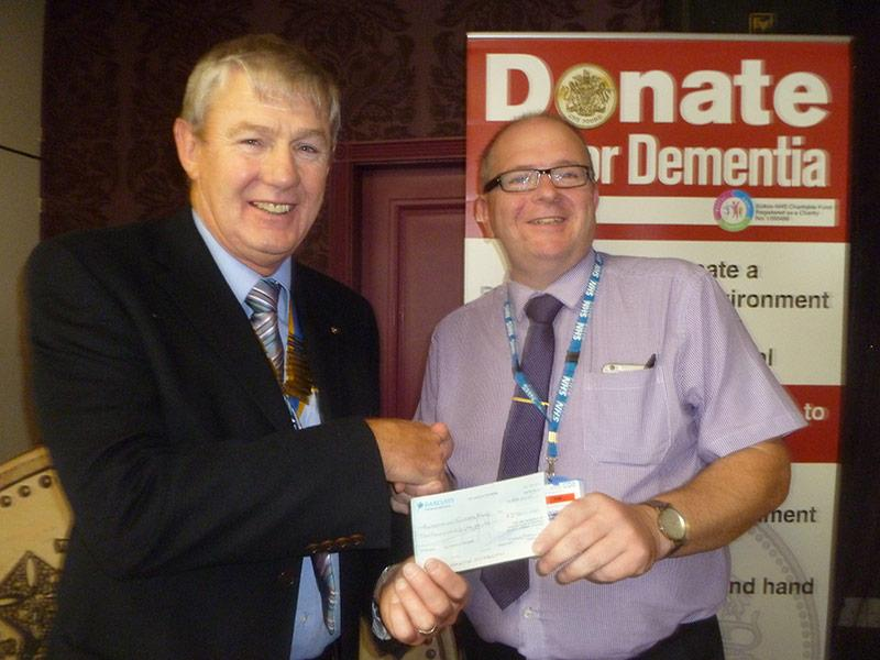 Donate £1 for Dementia Appeal -