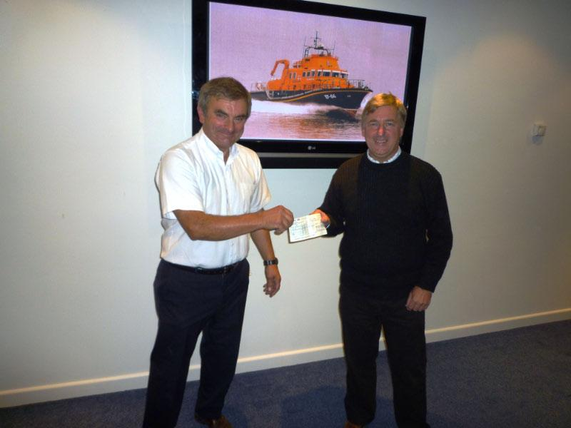 Lifeboat Event (14 September 2010) - Presentation by Steve Hogg to John Webster