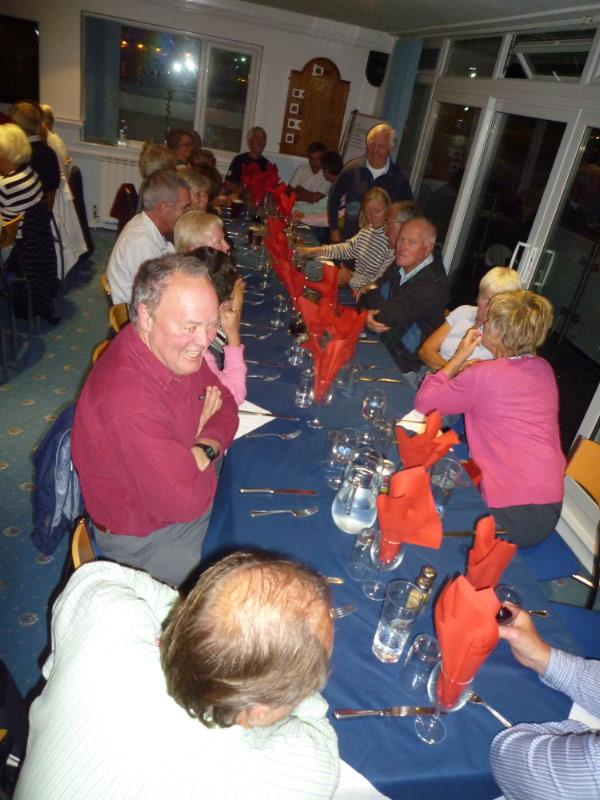 Lifeboat Event (14 September 2010) - Dinner at GYC