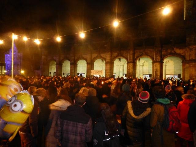 ... St Andrews Day Celebrations and Christmas Lights Switch On - A crowded  dance floor (grass St Andrews Day Celebrations and Christmas Lights Switch  On - A ... - St Andrews Day Celebrations And Christmas Lights Switch On - Rotary