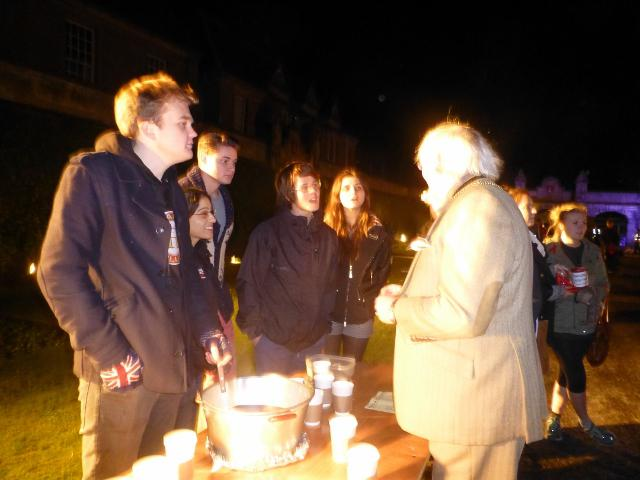 ... St Andrews Day Celebrations and Christmas Lights Switch On - Rotaract  chat football with Provost of St Andrews Day Celebrations and Christmas  Lights ... - St Andrews Day Celebrations And Christmas Lights Switch On - Rotary