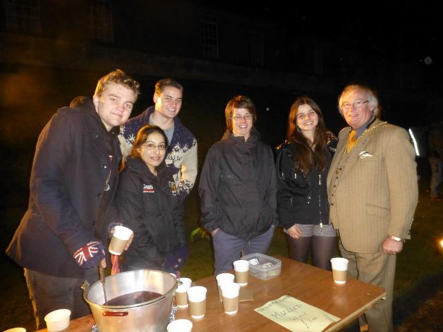 St Andrews Day Celebrations and Christmas Lights Switch On - St Andrews Day Celebrations And Christmas Lights Switch On - Rotary