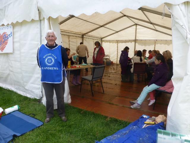 Stroke Awareness Day at Fife Show -