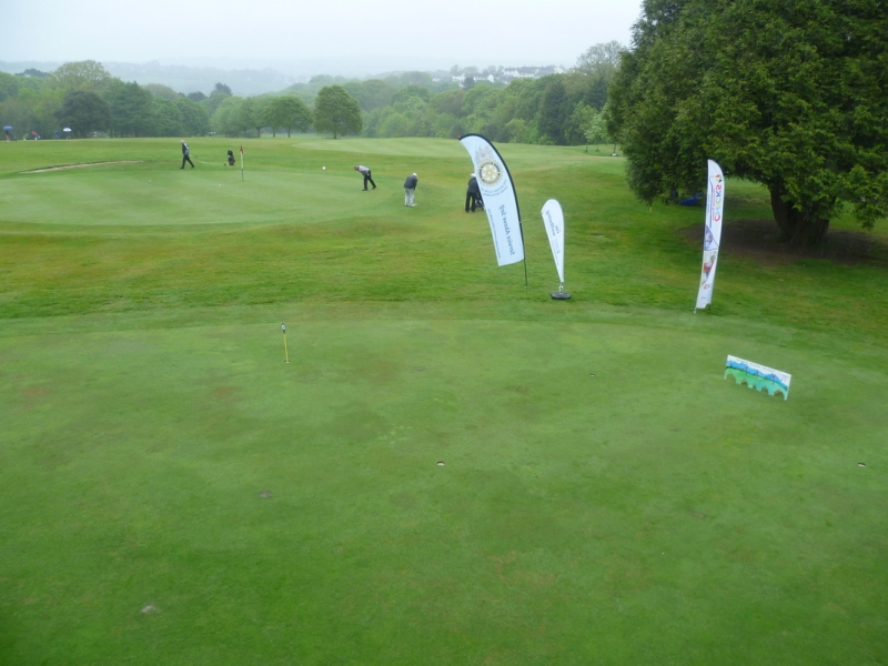 20th Annual Mayor of Truro's Charity Golf Day, 12 May 2017 - A soggy day in Truro town