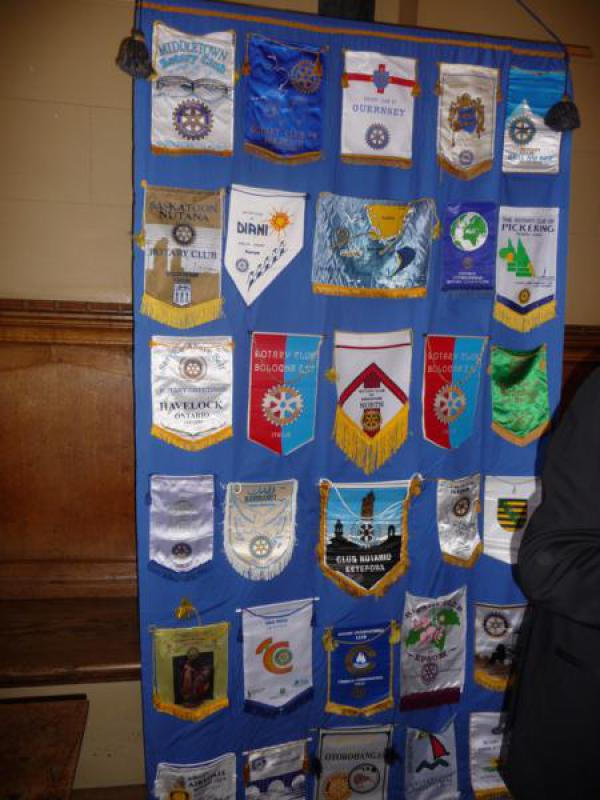 TRINITY GETS TO SILVER - Some of our Banners