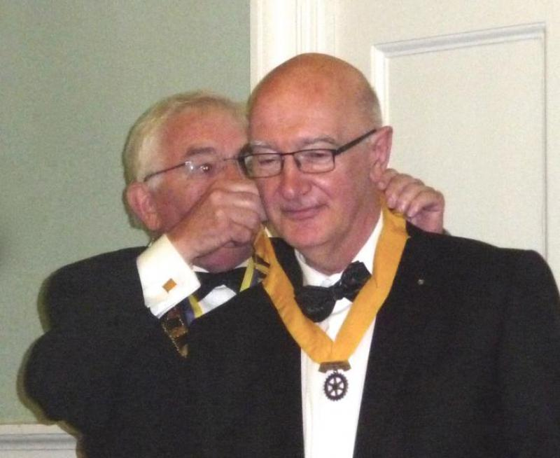 TRINITY GETS TO SILVER - Jim Milne - elevation to President Elect