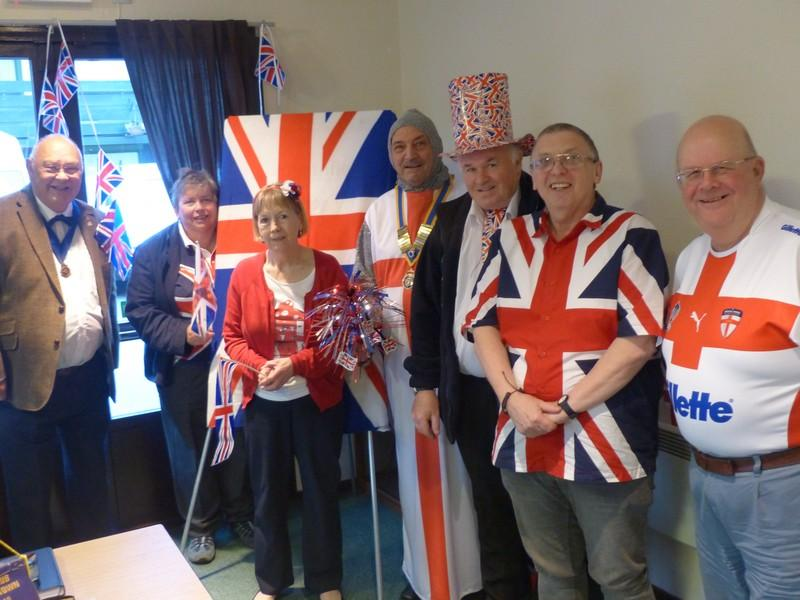 Club Meeting - Celebrating the Queens 90th Birthday - P1060571