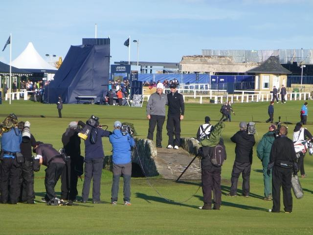 Dunhill Golf Tournament 2017 on Old Course -